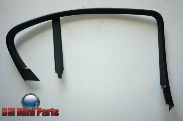BMW 3 SERIES E90 Rear Left Door Window Frame Top Trim Surround 51347060221