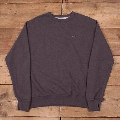 "Clothes, Shoes & Accessories Radient Mens Vintage Champion Grey Crew Neck Sweatshirt Sweater Jumper Medium 40"" R12539 Bestellungen Sind Willkommen."