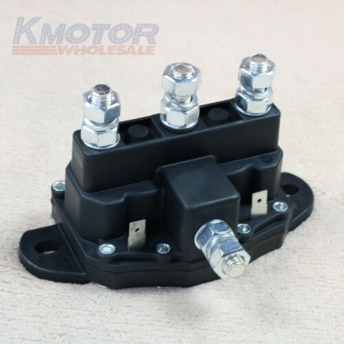 Solenoid Relay Universal 12V Volt Contactor Winch 6 Terminals Switch Truck Motor
