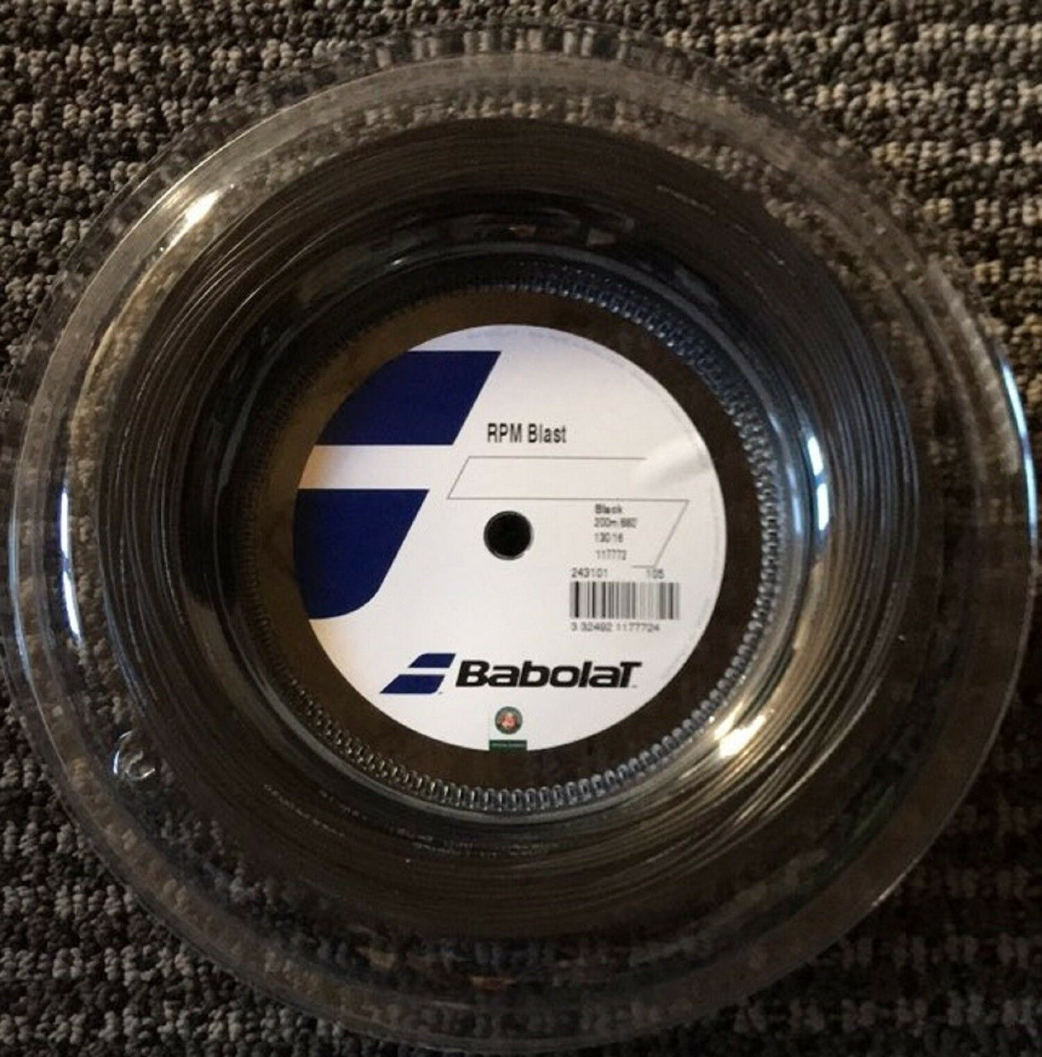 Babolat Xcel 16 Tennis String 200M//660ft Reel