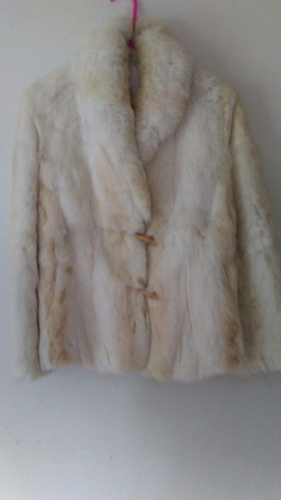 Womens Vintage fur coat by Elan size M