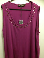 Maggie T Bedazzled Bejeweled Purple Party/day/formal Dress Sz0 (16/18/20)