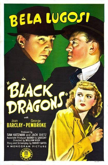 BLACK DRAGONS 1942 Thriller War Movie Film INSTANT WATCH