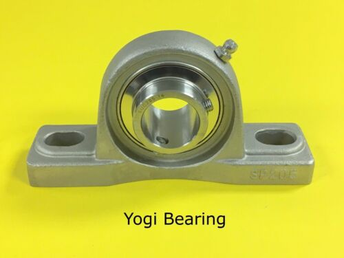 """SUCSP209-27 High Quality 1-11//16/"""" Stainless Steel Pillow Block Bearing"""