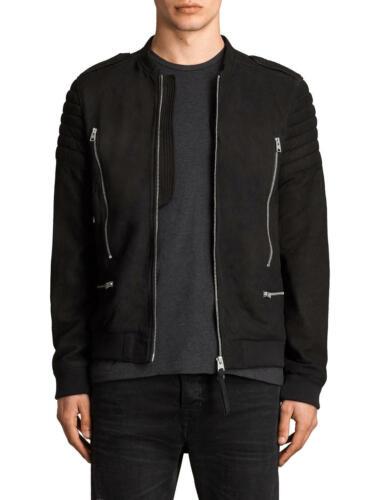 Men's All Saints Leather Moto Bomber