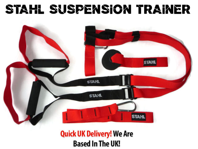 STAHL SUSPENSION TRAINER SYSTEM HOME GYM TRAINING WEIGHT LOSS MUSCLE PROTEIN