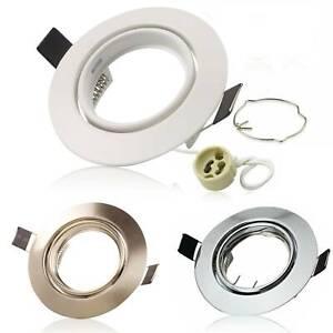 LED Einbaustrahler Rahmen GU10 Set 230V Einbauspot Einbaurahmen Einbauleucht