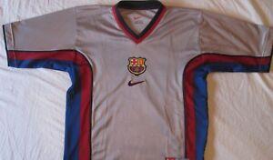 La imagen se está cargando Camiseta-Shirt-Maglia-Nike-Original-Futbol-Club- Barcelona- a46b1395bac