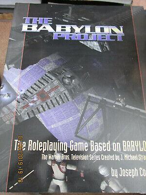 2019 Nuovo Stile B5 Babylon 5 Il Progetto Babilonia Rpg Basato Su B5 Wb Gamma Pam Camaleonte Sb-mostra Il Titolo Originale