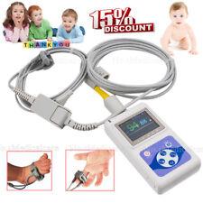 Neonatalinfantchild Spo2 Blood Oxygen Monitor Oled Pc Software Bundled Probe