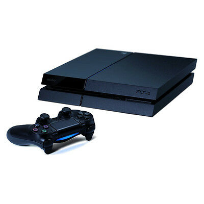 Sony PlayStation 4 - 500 GB Jet Black Console Very Good Condition