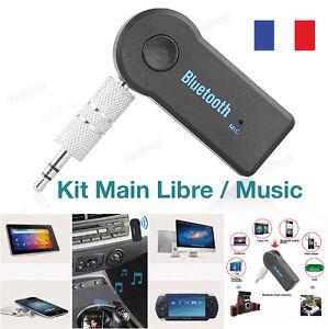 Bluetooth Récepteur Adaptateur Main libre Sans Fil A2DP 3.5mm Stéréo HiFi Audio