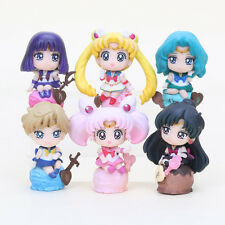 Sailor Moon 20th Anniversary 6 Figure Set Rare Japan Collectable Sailor Stars