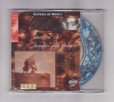 (CD) SISTERS OF MERCY - Interview CD - Thoughts And Prayers / Holoview CD
