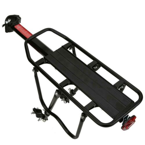 Bicycles Rear Rack Carry Carrier Holder Seatpost Quick Release Pannier Cycling