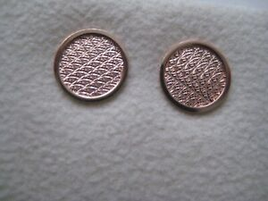087cdd9ad Image is loading Gold-stud-earrings-9-carat-rose-gold-diamond-