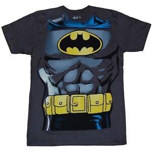 Image is loading Batman-Muscle-Costume-T-Shirt  sc 1 st  eBay & Batman Muscle Costume T-Shirt | eBay