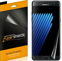 2x Supershieldz Hd Clear Screen Protector For Samsung Galaxy Note 7 [full Cover]