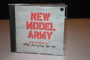 NEW-MODEL-ARMY-History-The-Singles-85-91-CD-EMI-7989542-FOLK-ROCK-NEW-WAVE