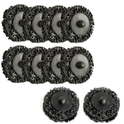Metalworking Supplies 10pcs 2'' Poly Strip Disc Wheel Paint Rust ...