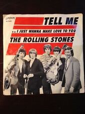 Rolling Stones 45 RPM Tell Me, I just Want To Make Love To You