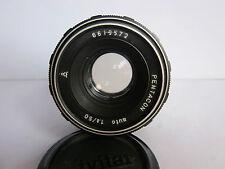 Pentacon 50mm f1.8 Lens M42 Pentax Takumar Screw f Digital Camera Helios Bokeh