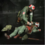 1-35-model-World-War-II-USA-Wounded-soldiers-from-the-resin-set-of-2-figures thumbnail 1