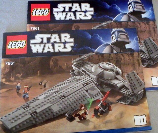 Instruction Lego Star Wars Instruction Manual 1 For 7961 Ebay
