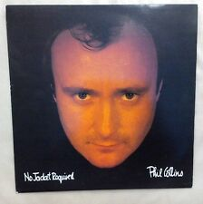 Phil Collins No Jacket Required Near Mint Vinyl Record LP V2345