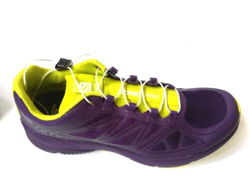 Salomon Sonic Pro Women Shoes-Purple//Yellow Femmes UK 6 39 1//3