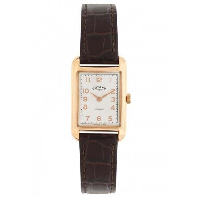 Rotary LS02699-01 Women's' Leather Strap Wristwatch