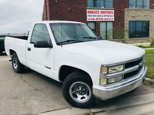 1997 Chevrolet C1500/K1500 4.3L~V6~FROM B.C.~CERTIFIED~CLEAN CAR HISTORY!