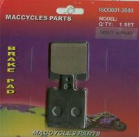 Atk Disc Brake Pads Atk560 1984-1988 Front (1 Set)