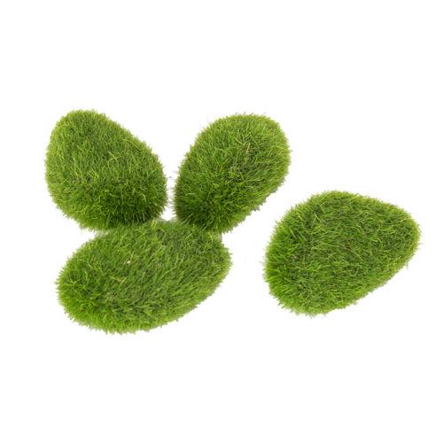 14 pcs Artificial Stone Moss Ball Filler Greenery Silk Wedding Flowers Decor
