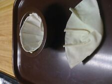 Basket cloth coffee filters (small 2-4 cup size)