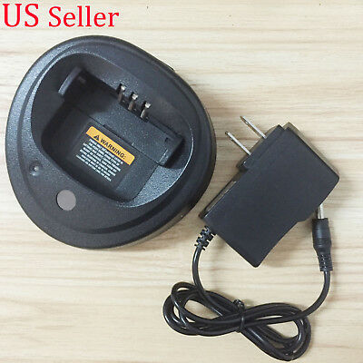 For MOTOROLA WPLN4137BR Cup Battery Rapid Charger for PR400 CP150 New
