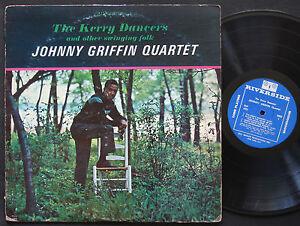 JOHNNY-GRIFFIN-Quartet-The-Kerry-Dancers-LP-RIVERSIDE-RLP-420-US-1962-JAZZ-MONO