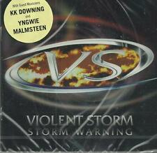 Violent Storm - Storm Warning ( 2006 ) Yngwie Malmsteen CD ( NEW / SEALED )