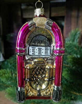 Katherine´s Collection Christbaumschmuck Glas Glasanhänger 70er Retro Pink
