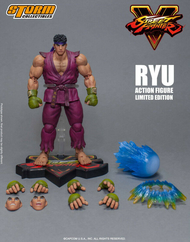 Sturm auch 1   12 skala actionfigur street fighter   ryu limited edition