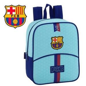 Fc Barcelona Kinder Rucksack Klein 22x10x27cm Kindergarten Schule Blau Tasche