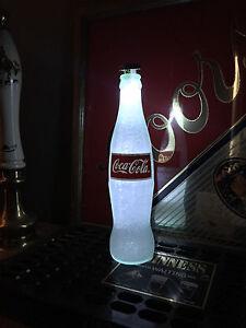Coke Coca Cola 12 oz Beer Bottle Light LED Bar Man Cave lamp