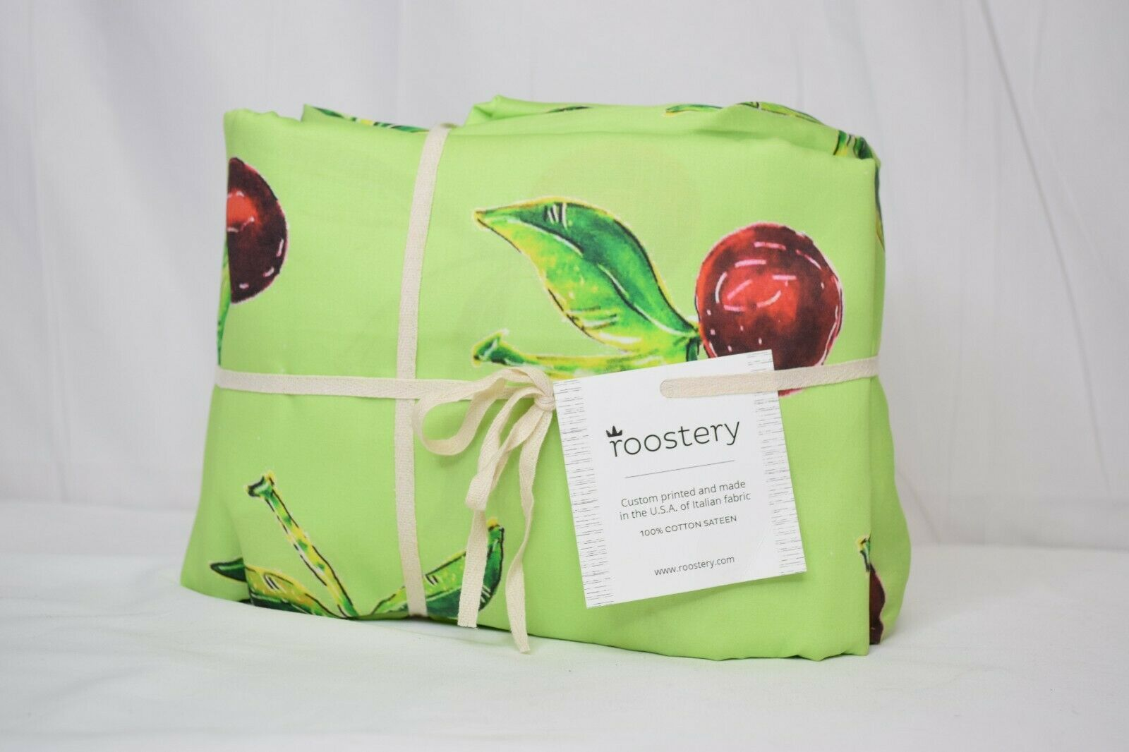 Kunstistic Hand Drawn Seasonal Summer 100% Cotton Sateen Sheet Set by Roostery