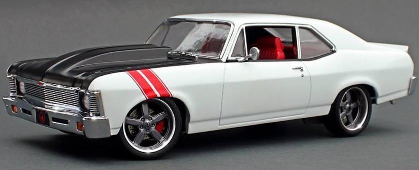 1970 Chevrolet Nova Blanc 18811 GMP