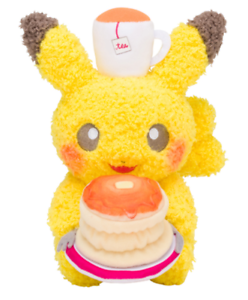 Pokemon  Plush doll Pikachu Pokémon meets Karel Capek pancake Japan import New