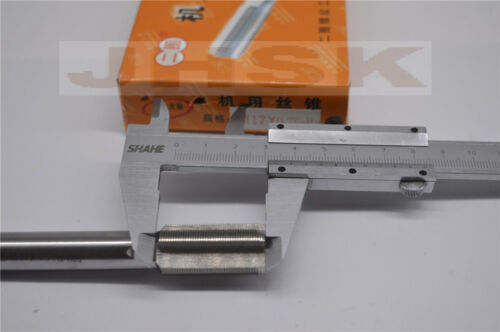 17mm x 0.75 Metric Taper and Plug Tap M17x0.75 superior quality M17 Fine teeth