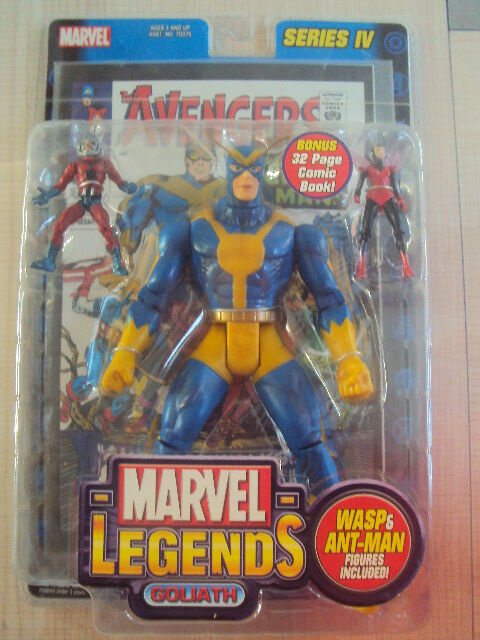 Marvel legends series 4  goliath 2003 spielzeug - biz - neuf