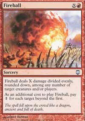 x4 4x Magic 2010 LP mtg 4 Fireball