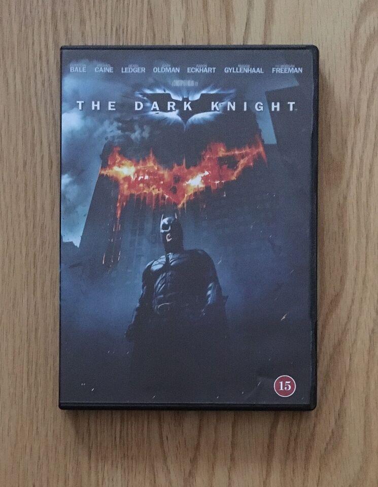 The dark knight, DVD, action
