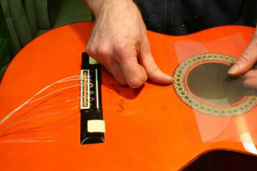 Schlagschutz   Kratzschutz Folie Golpeador für Flamenco Gitarren decke